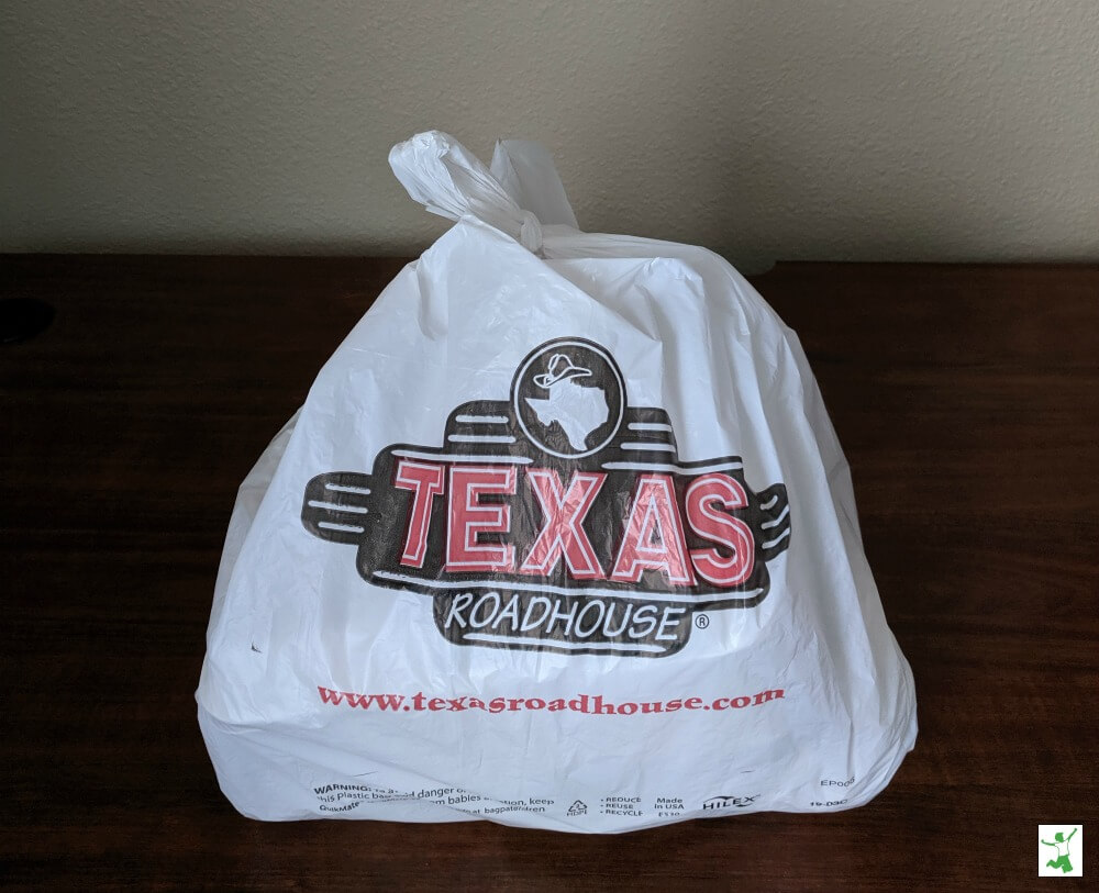 Takeout in a bag