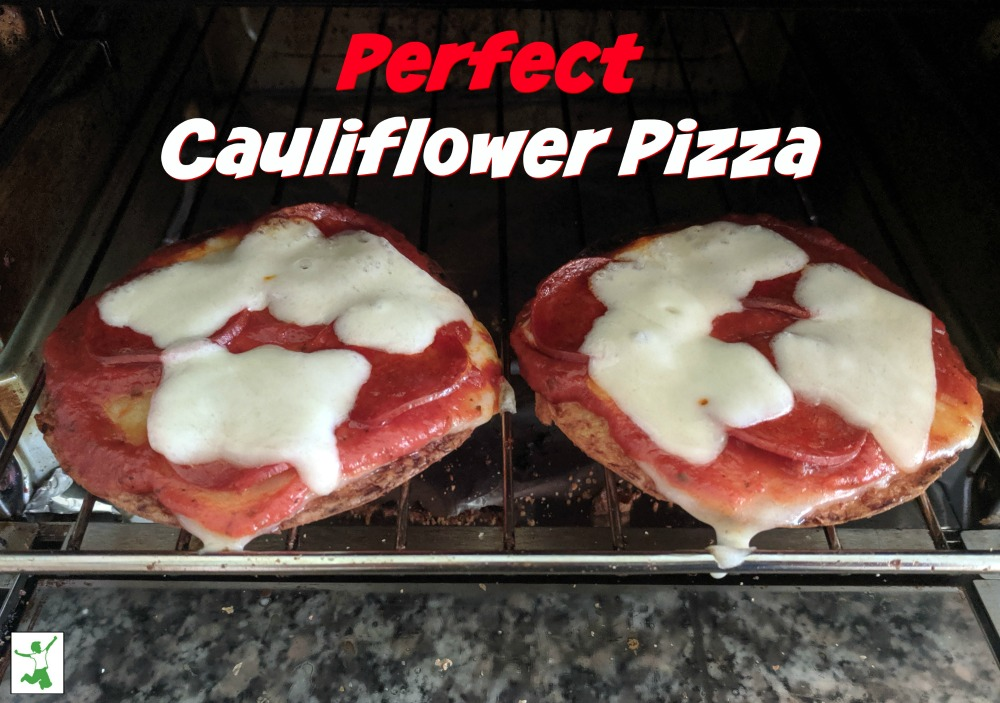Perfect Cauliflower Pizza (how to avoid a soggy mess