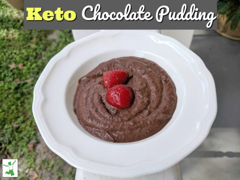 Keto Chocolate Pudding (5 ingredients, no alternative sweeteners) 1
