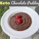 Keto Chocolate Pudding (5 ingredients, no alternative sweeteners) 1