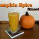 Pumpkin Spice Smoothie in a glass
