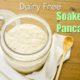 Dairy-free Soaked Pancakes