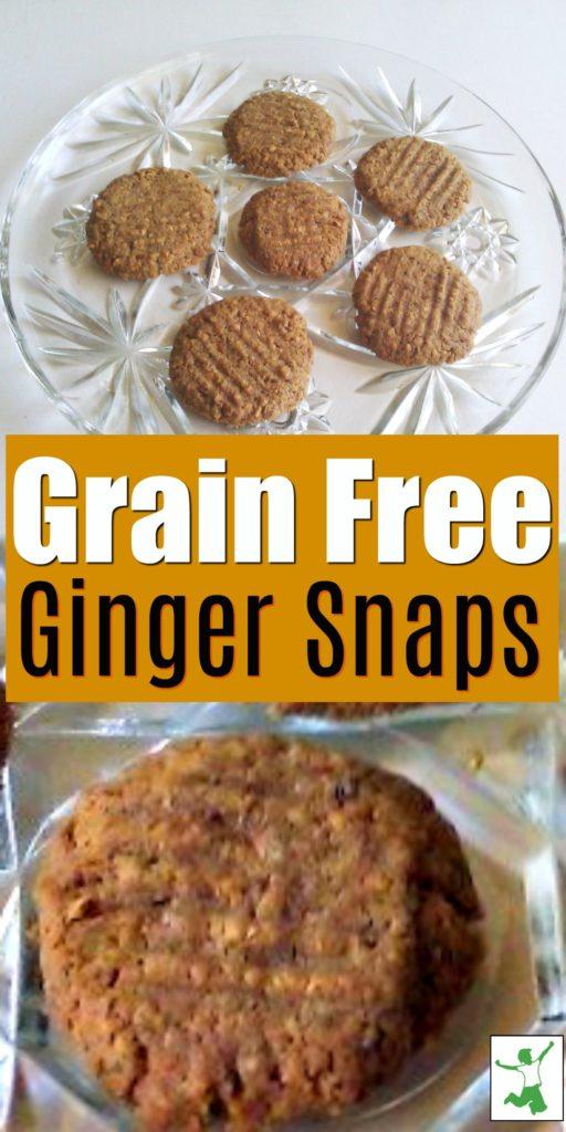 grain free ginger snaps