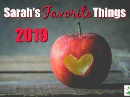 Sarah's Favorite Things 2019 1