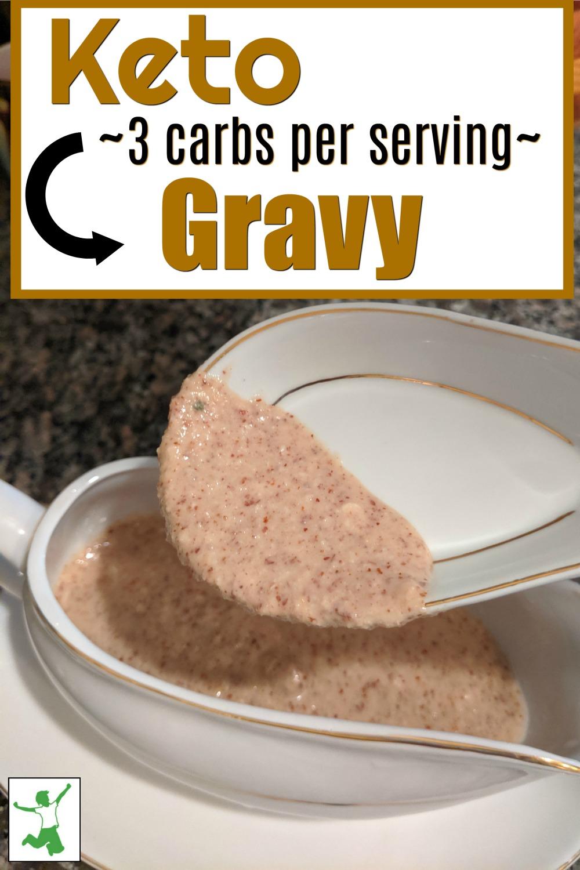 homemade keto gravy