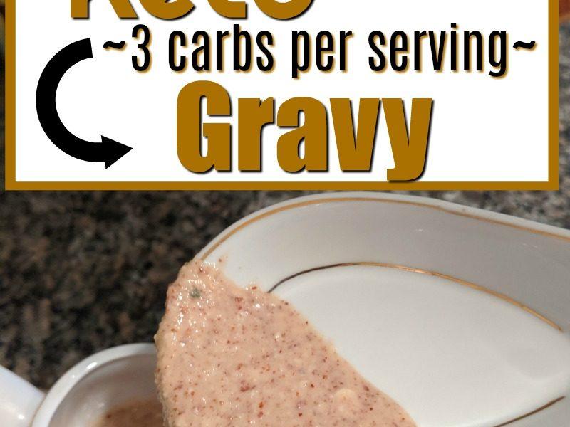 diy low carb gravy