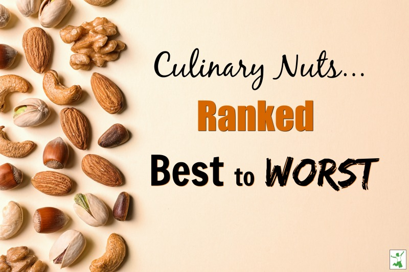 healthiest culinary nuts