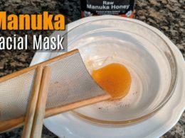 DIY manuka mask