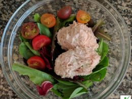deli-style tuna salad in a bowl