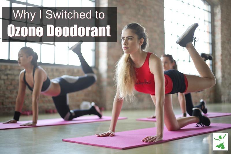 ozone deodorant benefits