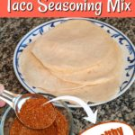 Homemade Taco Spice Mix (no MSG!)