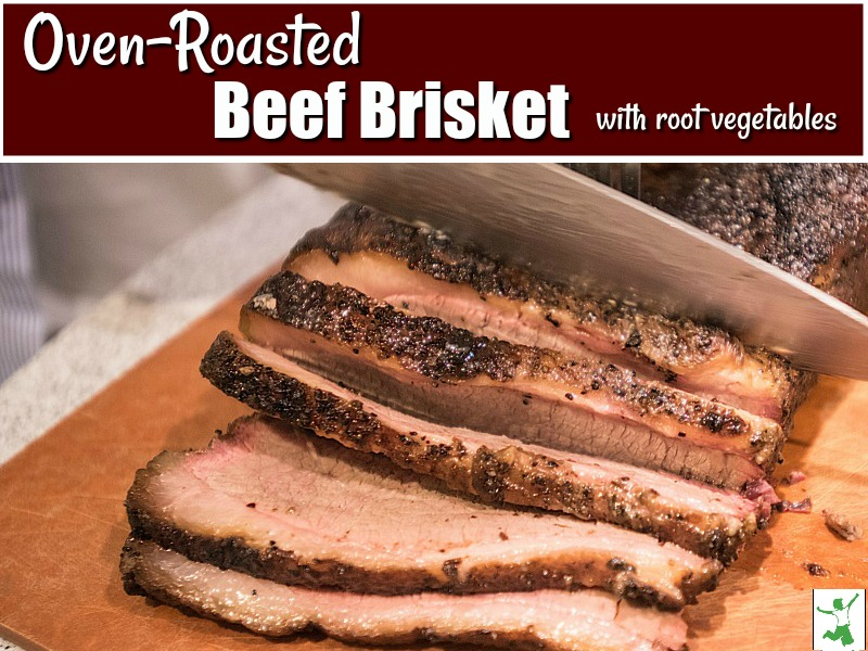 oven roasted brisket