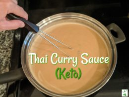 keto panang curry sauce