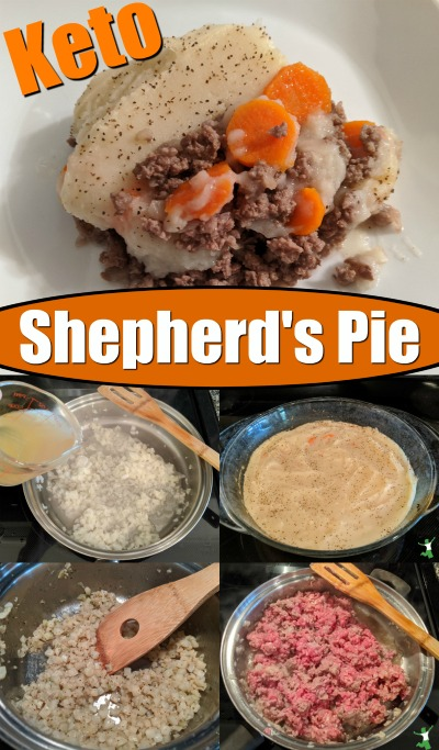 Steps to make homestyle Keto Shepherd's Pie