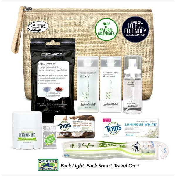 natural travel accessories
