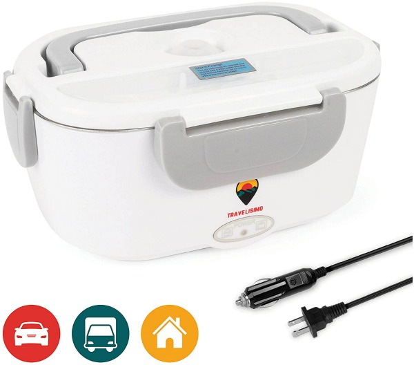 white electric lunchbox with cord