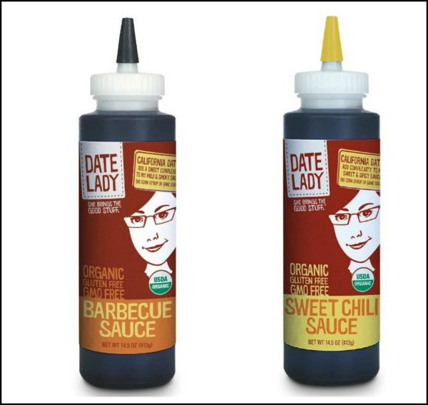 date sweetened sauces in bottles