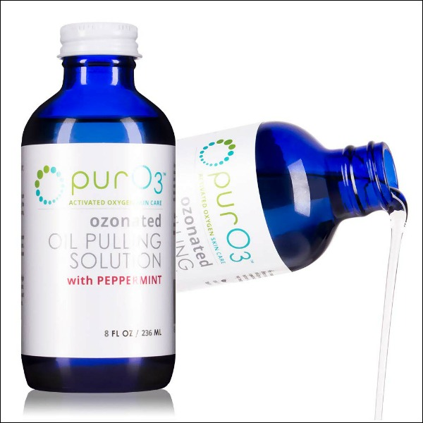 ozonated oil pulling solution