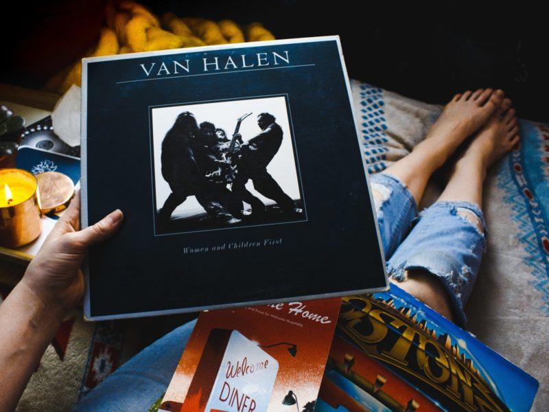 van halen vinyl album cover
