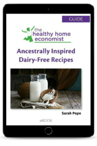 ancestrally inspired dairy-free recipes ebook cover
