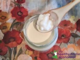 kefir grains activating in dairy milk