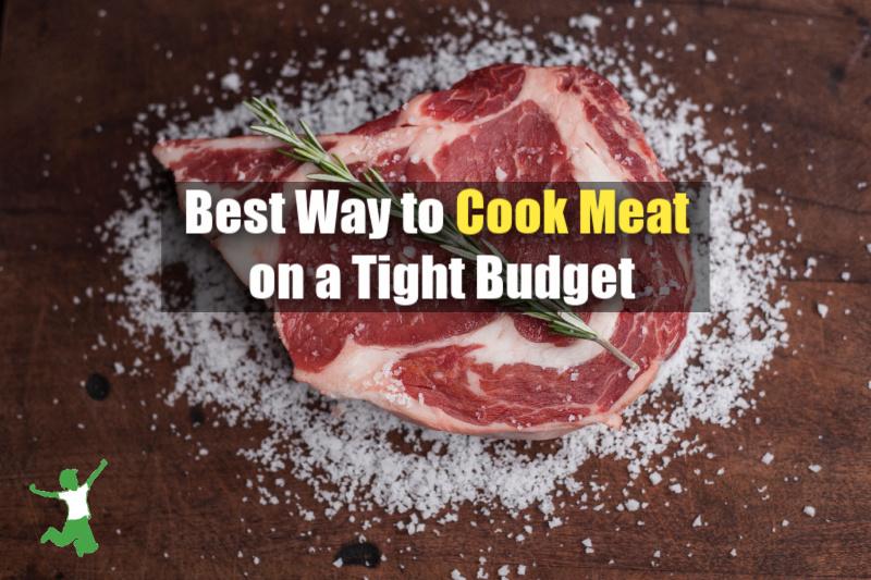 ribeye steak on a grill with sea salt
