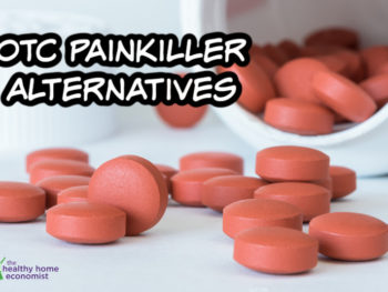 substitutes for OTC painkillers in a bottle